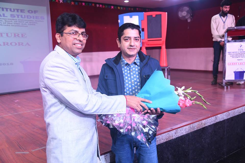 Guest Lecture - Sachin Arora (Zee News)